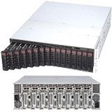 Supermicro SuperServer SYS-5038ML-H8TRF Eight Node LGA1150 1620W 3U Rackmount Server Barebone System - Black
