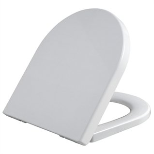 Infinity D Shape Soft Close Toilet Seat with Quick Release Hinges