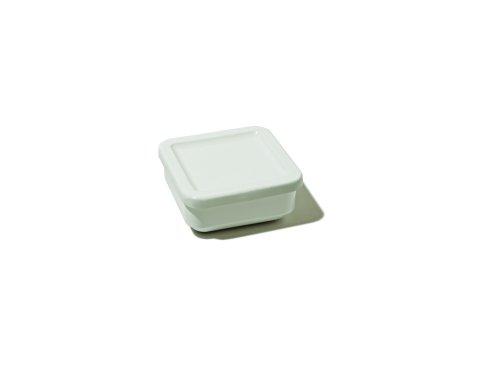 Alessi - FS02 2X2C - Programma 8 Contenitore in ceramica stoneware con coperchio in resina termoplastica.
