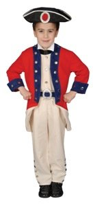 Colonial Soldier Child 8-10 Costume