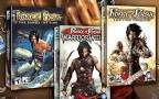 Prince Of Persia Sands of Time Trilogy PC, Prince of Persia: The Sands of Time, Prince of Persia Warrior Within, and Prince of Persia The Two Thrones