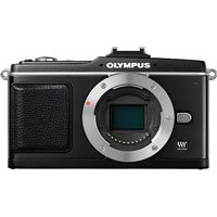 Olympus PEN E-P2 Micro 4/3 Digital Camera Body (Black)