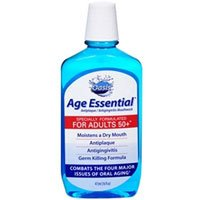 Oasis Age Essential Antiplaque/antigingivitis Mouthwash Mint-16 OZ (Pack of 3)
