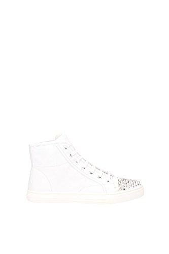 Sneakers Gucci Donna Pelle Bianco 370875BBD009014 Bianco 38EU