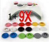 Donop 9 Pairs X Thumbstick Stick Grip Case for PS4 playstation 4 PS2 PS3 XBOX 360 Wii controller--9 colors