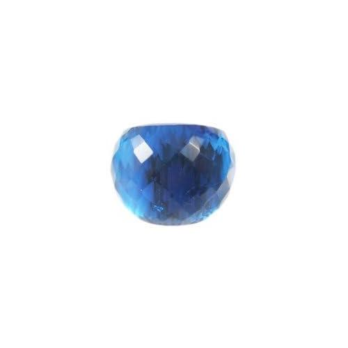 [アビステ]ABISTE ガラスリング ブルー 13号6000250S B 13