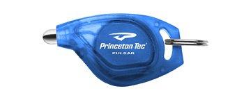Princeton Tec Pulsar White Led Key Chain Light (Blue Body)