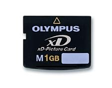 Olympus Carte mémoire xD Picture Card 1 Go Type M
