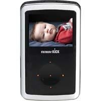 Memory Kick 60 GB MediaCenter HDD Portable Multimedia Photo Viewer & Manager with USB 2.0 Interface - Silver