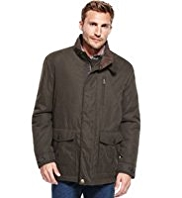 Funnel Neck Soft Touch Parka with Stormwear™