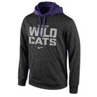 NIKE Men's Kansas State Wildcats College KO Full-Zip Hoodie, Black Amazon.com