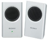 Sony Srsm30Whi Travel Speakers (White)