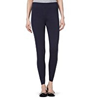 M&S Collection Cotton Rich Leggings with StayNEW™