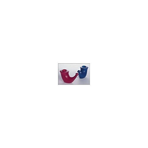 Neti pot - rhino horn, Red by Yoga Process (Neti Pot Rhino Horn compare prices)