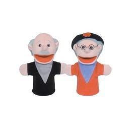Get Ready Kids Hispanic Grandparents Puppets