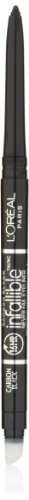 L'Oreal Paris discount duty free L'Oreal Paris Infallible Never Fail Eyeliner, Carbon Black, 0.008 Ounces