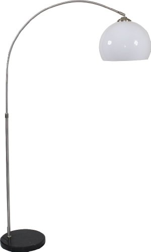 Bogenlampe Lampe Leuchte Stehlampe mit Marmorfuß