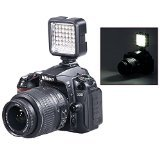 Bestlight® Ultra-Bright LED 36 Camera / Video Light with Rechargeable Battery Pack and Charger for Canon, Nikon, Olympus, Pentax DSLR, Mini-DSLR and Camcorders