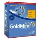 GOLDMINE 6.5 Customer & Contact Management- 1 User ~ Goldmine Software