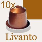 Nespresso Livanto Coffee Capsules, NEW (10, 1 box of 10)