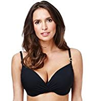 Underwired Ruched Push-Up Bikini Top