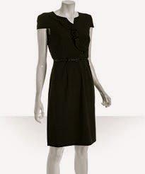 Black Size 6, Kenneth Cole Dress, Ruffled