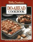 Betty Crocker's Do-Ahead Cookbook (0028600304) by Crocker, Betty