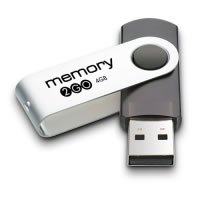 Memory 2 Go - USB flash drive - 4 GB - USB 2.0 from Integral Memory