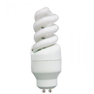 Leuchten Direkt Energiesparlampe, GU10/9W Spirallampe,
