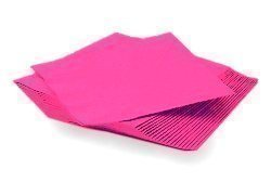 Hot Pink Paper Napkins (2Ply)