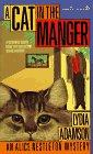 Cat in the Manger : An Alice Nestleton Mystery, LYDIA ADAMSON