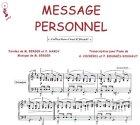 echange, troc Michel BERGER / Françoise HARDY - Partition : Message personnel - Piano et paroles