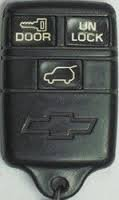 1994-1995 Chevy Camaro RS Z28 Coupe Convertible Keyless Remote FCC ID: ABO0104T (1994 Camaro Z28 Parts compare prices)