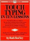 img - for Touch Typing in Ten Lessons Publisher: Perigee Trade; Revised edition book / textbook / text book