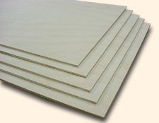 Baltic Birch 1/8'' Plywood Pack of 12 Sheets 20