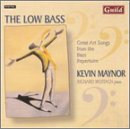 Low Bass Great Art Songs From Bass Repertoire
