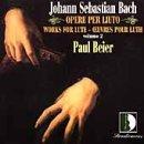 echange, troc Bach, Beier - Works for Lute 2