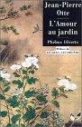 echange, troc Jean-Pierre Otte - L'Amour au jardin