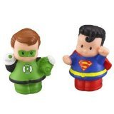 Little People DC Super Friends Green Lantern & Superman Figure Pack - 1