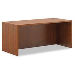 -- BL Laminate Series Rectangular Desk Shell, 66w x 30w x 29h, Medium Cherry