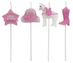 Heart My Horse Candles Molded Pick Sets [4 Retail Unit(s) Pack] - 101155