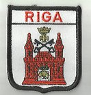 Riga Latvia Flag Embroidered Patch Badge