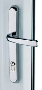 Door Handle Chrome Lever Short by New A-Brend