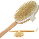 Easy Lifestyles Unisex Multi-function Bristle Bath Brush With Long Handle (Detachable)