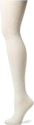 Capezio New York Women's Argyle Texture Thigh High Sock