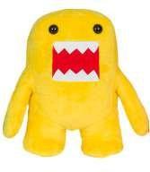 """Yellow 10"""" Domo Plush"""