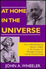 img - for At Home in the Universe (Masters of Modern Physics) book / textbook / text book