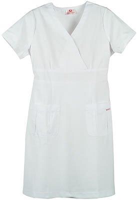 White Cross Women's A-Line Scrub Dress Medium White (Dress Oasis compare prices)