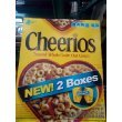 Cheerios Toasted Whole Grain Oat Cereal 2 Boxes NET WT 40.7oz
