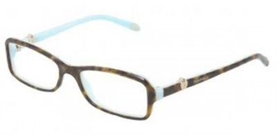 Tiffany & Co Womens 52 mm Brown Frame Transparent